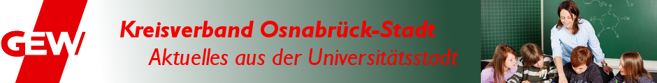 GEW Kreisverband Osnabrück-Stadt - Aktuelles aus der Universitätsstadt
